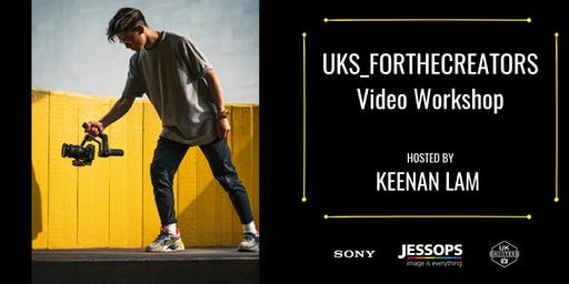 #UKS_FORTHECREATORS Video Workshop