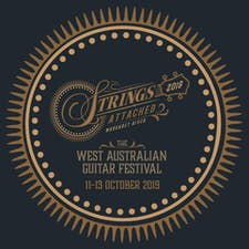 Strings Attached: The West Australian Guitar Festival logo