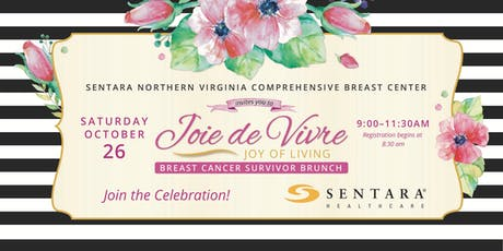 Joie de Vivre (Joy of Living): Sentara Breast Cancer Survivor Brunch  tickets