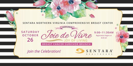 Joie de Vivre (Joy of Living): Sentara Breast Cancer Survivor Brunch