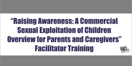 "Alameda ""Raising Awareness"" Facilitator Training  tickets"