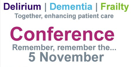 Delirium, Dementia and Frailty Conference tickets