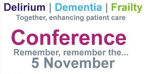 Delirium, Dementia and Frailty Conference