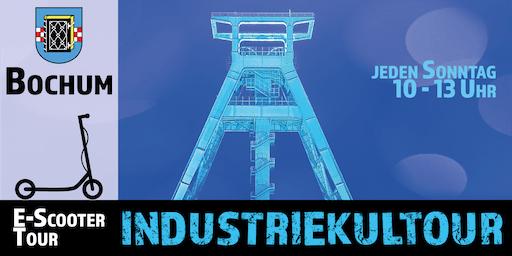 """E-Scooter Tour: """"Industriekultour"""" Bochum"""