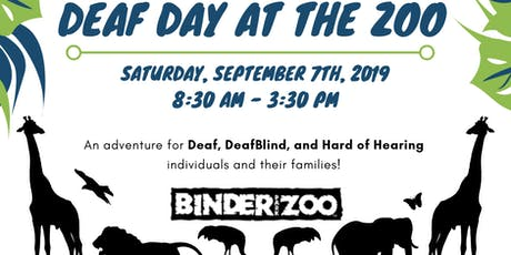 Deaf Day at the Zoo tickets