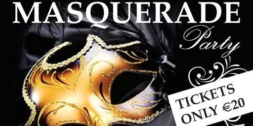 Charity Masquerade Party - Sun 27th Oct - NW Simon Community