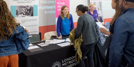 London Met Volunteering Fair 16th October - Organisation Registration tickets