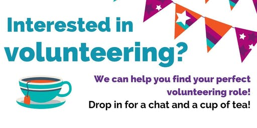 We can help you find your perfect volunteering role! September volunteering open day