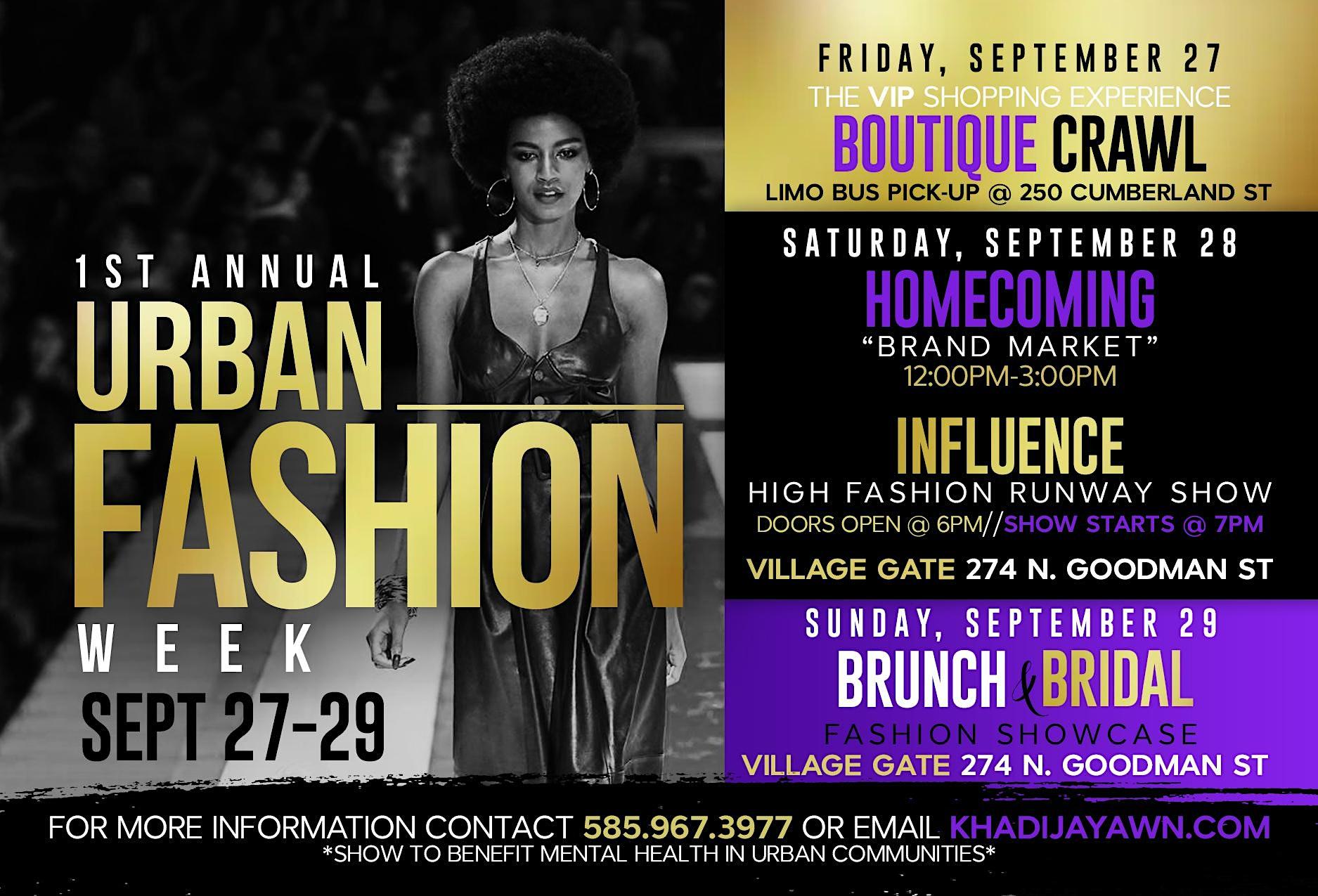 1st Annual Urban Fashion Weekend  Image
