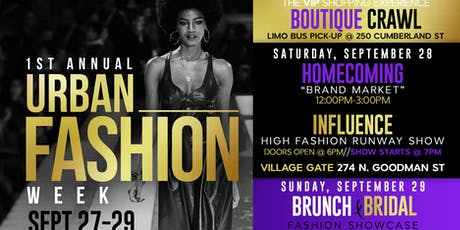 1st Annual Urban Fashion Weekend  tickets