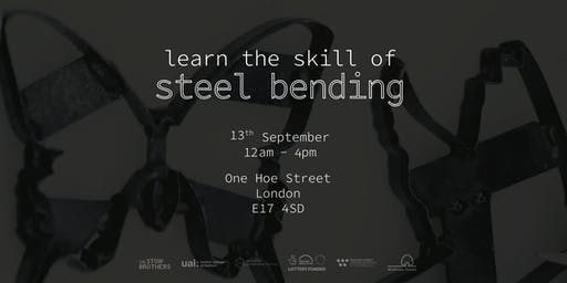 workshop | learn the skill of steel bending
