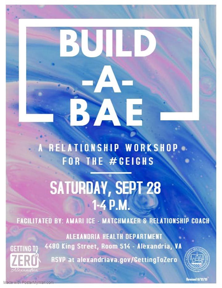 Build A Bae: A Relationship Workshop for the #Geighs Tickets