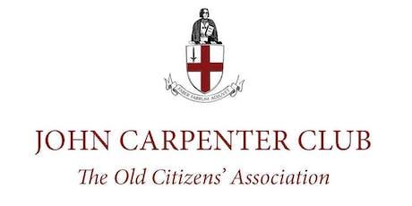 The John Carpenter Club Dinner 2019 tickets