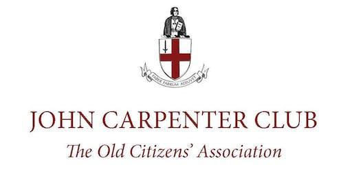 The John Carpenter Club Dinner 2019