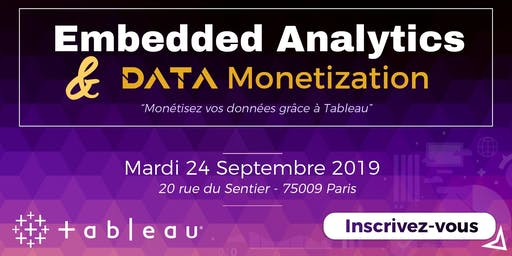 Petit Dej' Embedded Analytics & Data Monetization