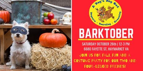 Barktober Fall Festival for Our Two and Four-Legged Friends tickets