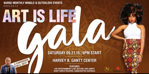 ART IS LIFE: ROOFTOP GALA