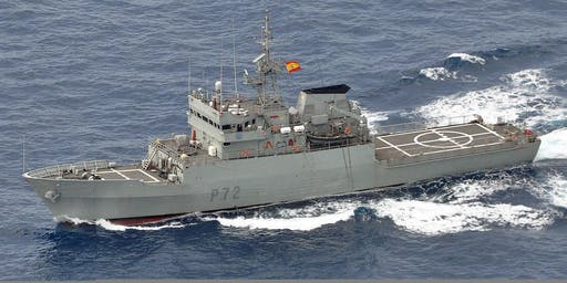 Tour of Spanish Naval Vessel