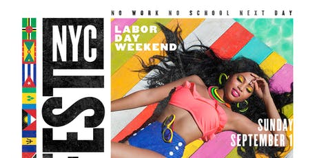 FLAG FEST - Reggae vs soca LABOR DAY NYC tickets