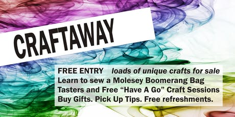 Craftaway - all things crafty and creative tickets
