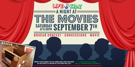 Life Kidz Present: A NIGHT AT THE MOVIES