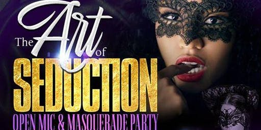 The Art of Seduction Poetry Masquerade Party