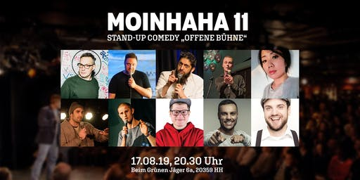 """MOINHAHA 11 - Stand Up Comedy """"Offene Bühne"""""""