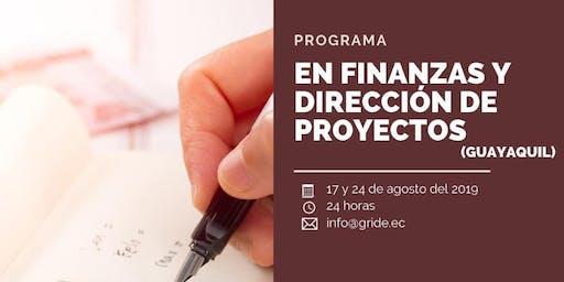 FINANZAS Y DIRECCIÓN DE PROYECTOS