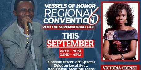 Vessels of Honor Regional Convention tickets