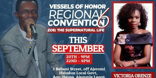 Vessels of Honor Regional Convention