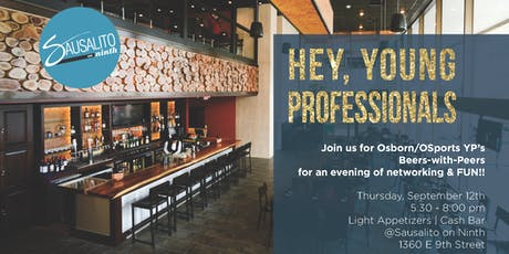 """Osborn Engineering YP """"Beers With Peers"""" Networking Event tickets"""