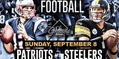 Patriots vs. Steelers @ The Greatest Bar tickets