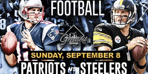 Patriots vs. Steelers @ The Greatest Bar