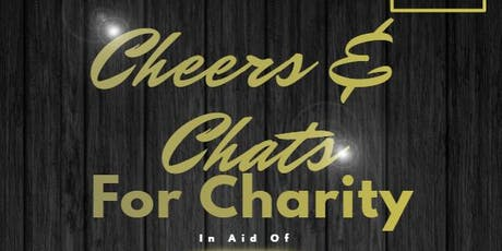 Cheers and chats for charity tickets