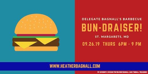 Delegate Bagnall's BBQ Bun-draiser!