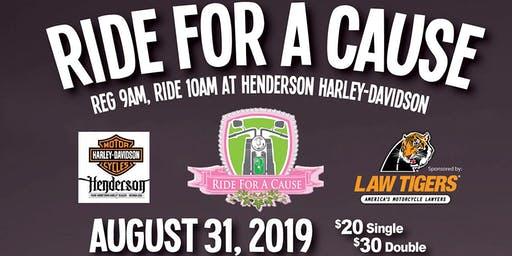 Ride for a Cause Poker Run