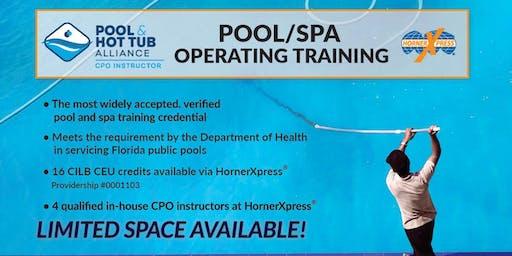 HornerXpress® PHTA Certified Pool/Spa Operator Training (Ft. Lauderdale)
