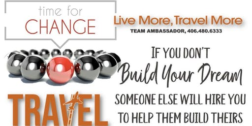 Online FREE Webinar/Travel the World: Learn How to Build Financial Wealth and Financial Freedom
