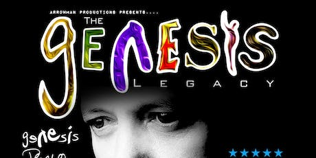 Genesis Legacy at Broadstairs Pavilion tickets