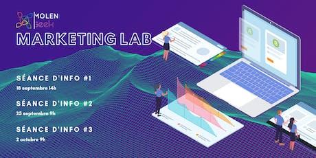 [Séance d'information] MolenGeek Marketing Lab billets