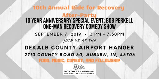 10th Annual Ride for Recovery After-Party