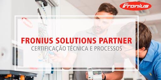 Fronius Solutions Partner -  Certificação Técnica e Processos