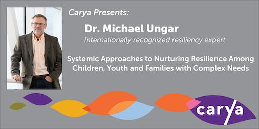 carya Presents: Dr. Michael Ungar