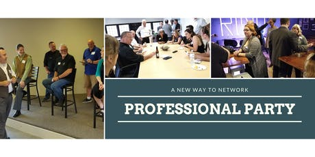 Professional Party: A New Way to Network [Sept 2019] tickets