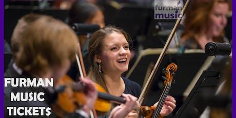Furman Music Tickets 2019-2020 tickets