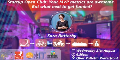 SOC: Your MVP metrics are awesome. But what next to get funded? tickets
