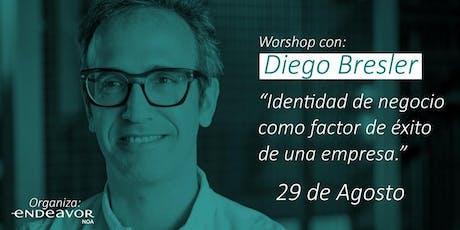 Workshop ¨Identidad de negocio como factor de exito de una empresa¨. entradas