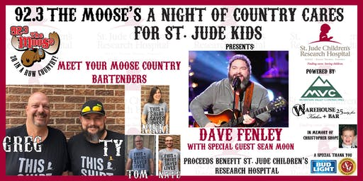92.3 The Moose - A Night of Country Cares for St. Jude Kids Fundraiser