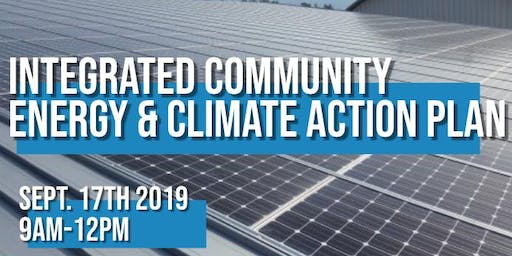 Integrated Community Energy & Climate Action Plan Meeting