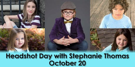 October Headshot Special with Stephanie Thomas tickets